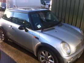 ****PRICE REDUCED**** Mini Cooper 2003 - spares or repair