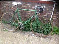 Vintage Mans Road Bike 10 Speed