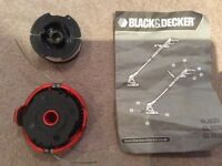 BLACK & DECKER SPOOL COVER AND SPOOL