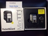 Pocket Wizard MinniTT1 for Nikon. Boxed and unused.