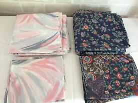 Double duvet and pillow case sets. Never used