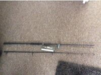 Carp 10ft 3lb tc Nash dwarf rods x2