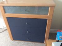 Free chest of draws slight wear marks on top but free to collector