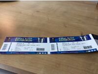 2 tickets for Murrayfield cup final 13 th May