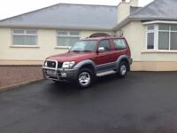 2001 Toyota Landcruiser GS D4D swb car type full years mot
