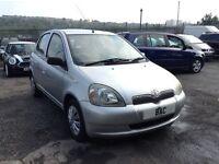 Toyota Yaris 1.3 VVT-i 16v GLS 5dr £895 12 MONTH MOT! 2002 (52 reg), Hatchback