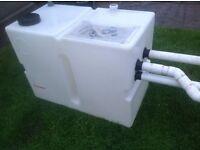 350+ LITRE WATER STORAGE PLASTIC SUMP TANK