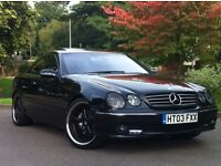 2003 Mercedes Benz CL500 2dr Coupe 5.0 Auto AMG - Petrol & LPG - F/S/H - PX possible