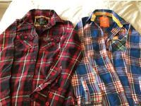 Ladies X small Superdry shirts