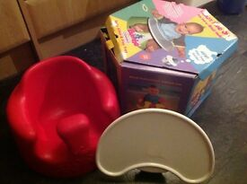 Bumbo with tray Excellent condition £20 Ono