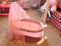 Baby Annabel Doll's Cot in excellent condition