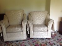 3 piece suite - like new. 3 years old immaculate condition