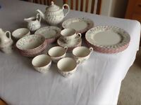 Summer Chintz 6 place dinner set