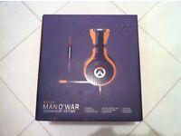 Limited Edition Overwatch Tournament Edition Razer Man O' War Headset.