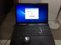 Sony Vaio Laptop 500gb