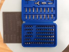 120 piece screw driver set new in box