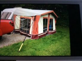 Caravan awning, sun amp prestige, size 6