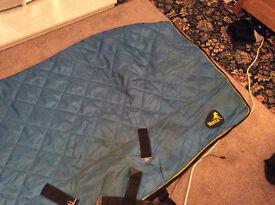 Masta quilted indoor rug