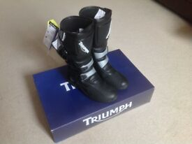 BRAND NEW Triumph Adventure Boots (size 8)