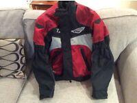 WEISE TAIYO textile motorcycle jacket size XS
