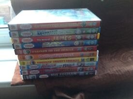 10 Thomas the Tank engine DVDS