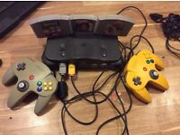Nintendo 64 comes with AV wire but no power cable