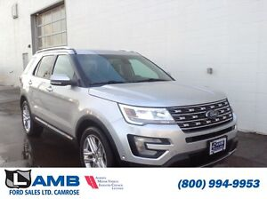 2016 Ford Explorer Limited 301A Active Park Assist Moonroof Trai