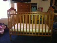 PINE MAMA&PAPPAS CHILDS COT