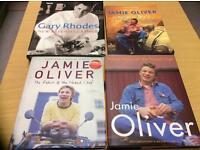 4 large cookbooks