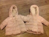 Next Baby Girls Winter Coat 0-3 months - 2 Available