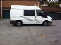 FANTASTIC PROFESSIONAL CAMPER VAN CONVERSION , HIGH SPEC ,FORD TRANSIT ....