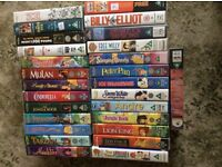 VHS Video tapes. Disney and Children's Films