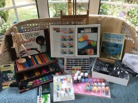 A Large amount of artist materials