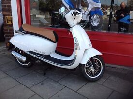 BRAND NEW NU17REG LEXMOTO VIENNA 50cc IN PERL WHITE FINANCE AVAILABLE