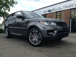 2015 Land Rover Range Rover Sport HSE DYNAMIC | SUPERCHARGED | N