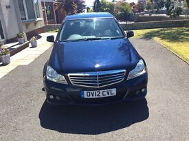 Mercedes c class blue efficiency fsh well maintained throughout excellent mpg 60+£30 road tax per y