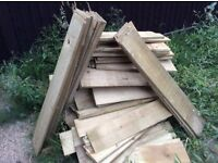 Free ship lap wood for small shed