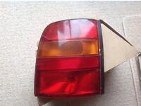 Nissan micra O/S Rear light.