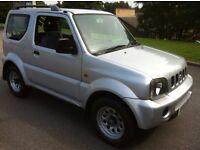 2001 SUZUKI JIMNY JLX 4X4 **AUTOMATIC** NOVEMBER MOT . CLEAN CONDITION , RUNS AND DRIVES GREAT