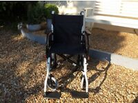 Wheelchair new, Orthos drift in white.