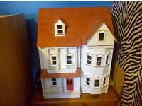 nice wooden dolls house