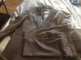 Boys grey suit
