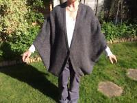 Designer Cardigan / Wrap. Long loose fitting wrap by Mary Portas.