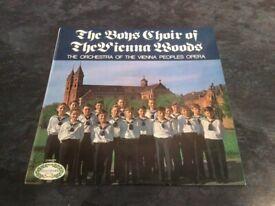 The Choir Boys of the Vienna Woods - Vinyl LP 1970
