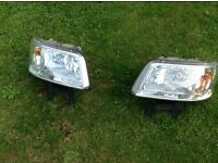 VW Transporter 2008 lights left and right. In good condition and working order