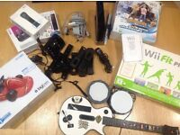 Ultimate Wii Console and Games MEGA Xmas bundle inc Skylanders....BARGAIN ..see details