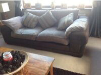 3 piece suite comprising chair, 2 seater sofa a 3 seater sofa