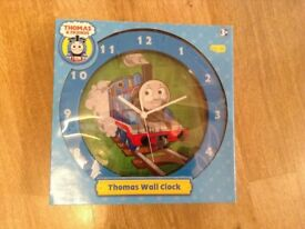 Thomas Tank Engine Wall Clock Unused and Boxed