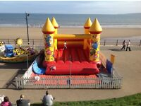 24x21ft BEE TEE Bouncy castle in Filey,N Yorkshire. £650 ovno.