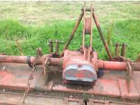 Howard tractor rotovater breaking for parts good gearbox